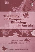 The study of European ethnology in Austria
