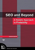 SEO and beyond a holistic approach to findability