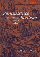 Renaissance realism : narrative images in literature and art