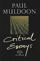 Paul Muldoon critical essays