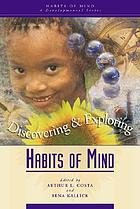 Discovering & exploring habits of mind
