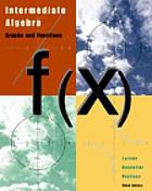 Intermediate algebra : graphs and functions