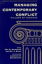 Managing contemporary conflict : pillars of success