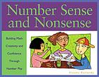 Number sense and nonsense : building math creativity and confidence through number play