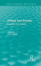 History and society : essays