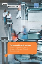 Enhanced publications linking publications and research data in digital repositories