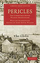 Pericles, Prince of Tyre the Cambridge Dover Wilson Shakespeare