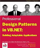 Professional design patterns in VB. NET : building adaptable applications