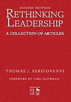 Rethinking leadership : a collection of articles