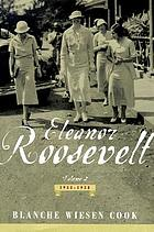 Eleanor Roosevelt : volume two 1933-1938
