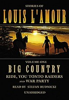 Big country. stories of Louis L'Amour