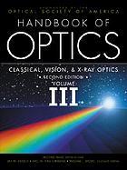 Handbook of optics