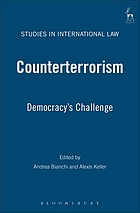 Counterterrorism : democracy's challenge