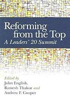 Reforming from the top a Leaders' 20 Summit