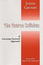 The course syllabus : a learning-centered approach