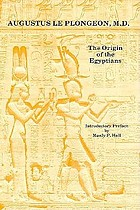 The origin of the Egyptians