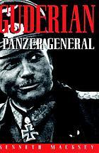 Guderian, Panzer general