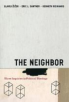 The neighbor three inquiries in political theology