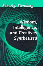 Wisdom, intelligence, and creativity synthesized