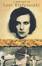 A portrait of Leni Riefenstahl