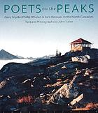 Poets on the peaks : Jack Kerouac, Gary Snyder & Philip Whalen in the North Cascades