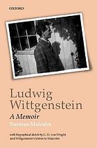 Ludwig Wittgenstein, a memoir