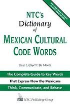 NTC's dictionary of Mexican cultural code words
