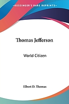 Thomas Jefferson, world citizen