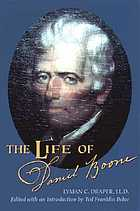 The life of Daniel Boone