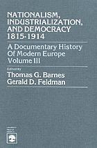 A Documentary history of modern Europe
