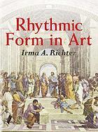 Rhythmic form in art