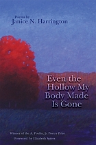 Even the hollow my body made is gone : poems