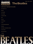 The Beatles : piano, vocal, guitar