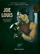Joe Louis : heavyweight champion