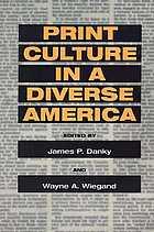 Print culture in a diverse America