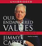 Our endangered values [America's moral crisis]
