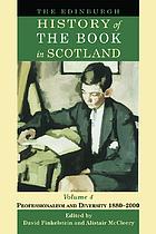 The Edinburgh history of the book in Scotland