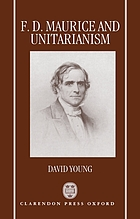 F.D. Maurice and Unitarianism