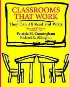 Classrooms that work : they can all read and write