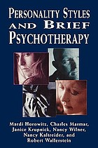 Personality, styles and brief psychotherapy