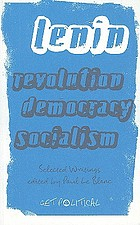 Revolution, democracy, socialism selected writings