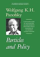 Particles and policy