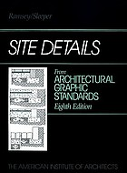 Site details from Architectural graphic standards