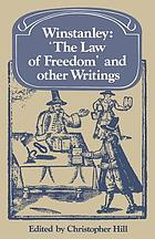 The law of freedom, and other writings