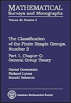 The classification of the finite simple groupsPart I, chapter G: General group theoryThe Classification of the finite simple groups. Number 2The classification of the finite simple groups, Number 2. Part I, Chapter G : general group theory