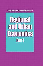 Regional and urban economics
