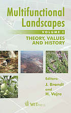 Multifunctional landscapes Multifunctional landscapes Theory, values and history
