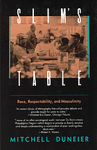 Slim's table : race, respectability, and masculinity