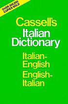 Cassell's Italian-English, English-Italian dictionary