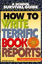 How to write terrific book reports
